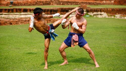 มวยไทยสมัยโบราณ