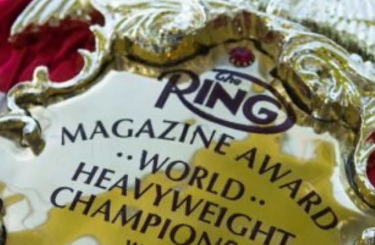 THE RING – Heavyweight Rankings